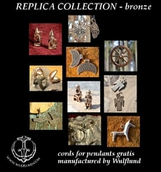 MUSEUM REPLICAS - BRONZE JEWELS, 10 pieces