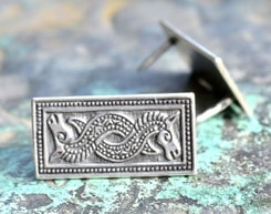 SLEIPNIR, Ornement Viking en argent 925