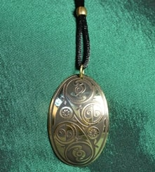 LÍOBHAN, brass necklace, Made in Ireland