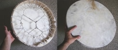LARGE NATIVE DRUM, 50 cm