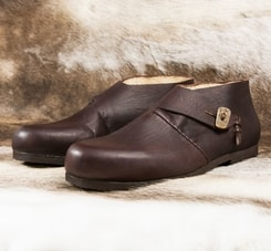 HAUKUR, viking leather shoes