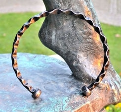 SERPENT, forged neck torc