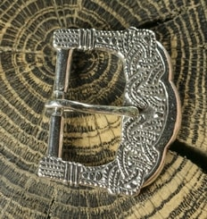 Viking Age Buckle, Gokstad, Norway, silver