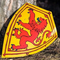 ALBA - Scotland, painted medieval shield