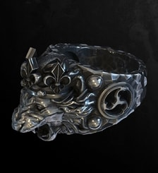 LION, King's Silver Ring