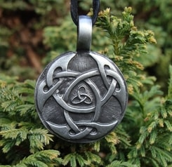CELTIC KNOT OF LIFE, casted pendant