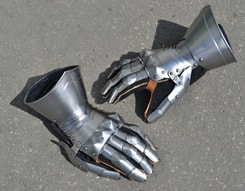 MEDIEVAL GAUNTLETS with Visby like fingers