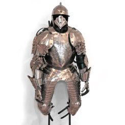 RENAISSANCE SUIT OF ARMOUR, etched armour, custom made
