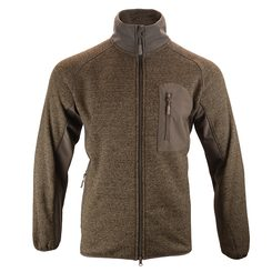 Weardale Knitted Jacket Brown