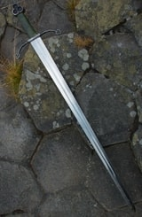 Claíomh Solais - Sword of the Light, Irish trefoil sword