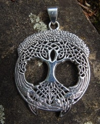 TREE OF LIFE, large pendant