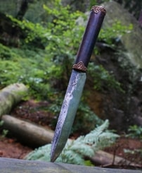 VLAD, early medieval forged knife