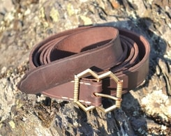 LEATHER BELT for re-enactment