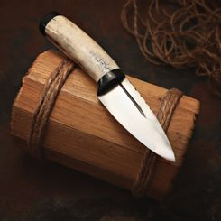 Sgian Dubh, forged Scottish knife