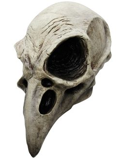 RAVEN SKULL MASK, costume rental