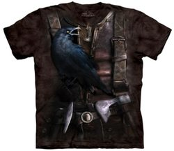 Viking Raven - Bird T-Shirt The Mountain