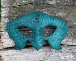 PHANTOM, leather mask