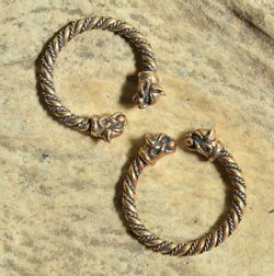 CELTIC CAT, ring, bronze