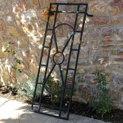 ART DECO - TRELLIS Forged Garden Décor