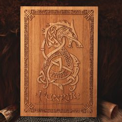 FENRIR Wall Decoration Plaquette