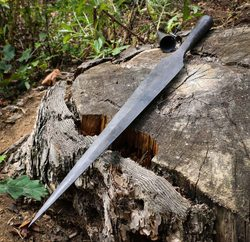 Viking Spear, forged, Sweden