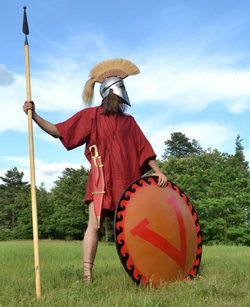 GREEK HOPLITE, costume rental