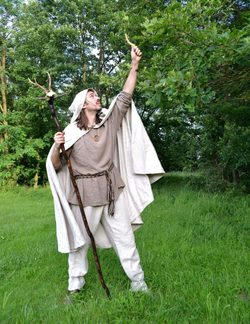 CELTIC DRUID, costume rental