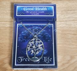 Good Health - Tree of Life pendant with a chain