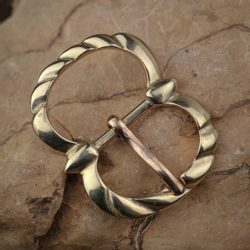Historical Buckle, bronze 15mm