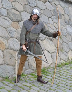 MEDIEVAL ARCHER - MERCENARY, costume rental