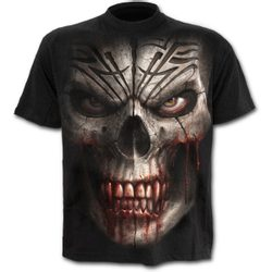 SKULL SHOCK - T-Shirt Black