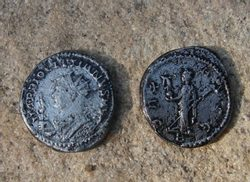 DIOCLETIANUS, 284 - 305, Antonianus, replica of a Roman coin