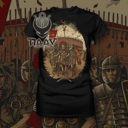 S.P.Q.R. Roman Legionary ladies T-Shirt, Naav