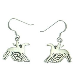 SLEIPNIR, Earrings, Silver
