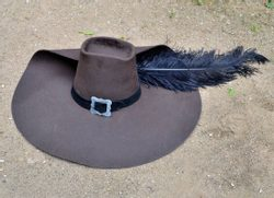 MUSKETEER HAT, for rental