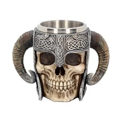 VIKING SKULL, tankard 550 ml