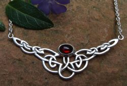 INFINITY,SILVER CELTIC NECKLACE, Ag 925