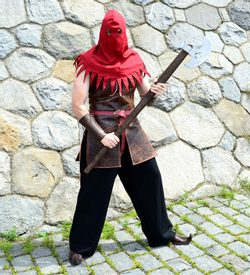 MEDIEVAL EXECUTIONER, costume rental