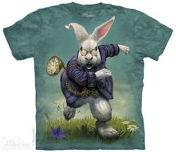 White Rabbit, T-Shirt, The Mountain