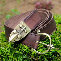 MEDIEVAL BELTS, CHEAP BELT HISTORICAL COSTUME ACCESSORY OUTFIT, GOTHIC BUCKLE