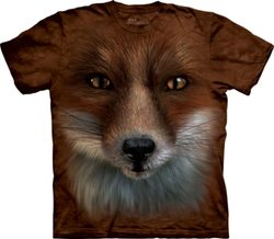 Big Face Fox, T-Shirt, The Mountain