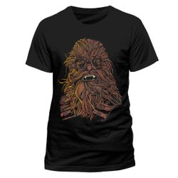 Han Solo Movie - Chewie Goggles, Unisex T-shirt - Black