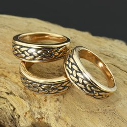RIONA, Bague celtique, bronze