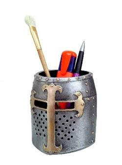 Crusader Pen Pot