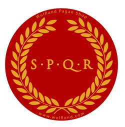 S.P.Q.R., Roman Car Sticker