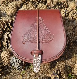 VENDEL Leather Belt Bag