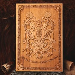 THOR'S HAMMER Wall Decoration Plaquette