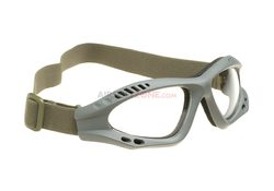 Combat Goggles Clear, Invader Gear, green