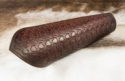 LEATHER BRACER in a Viking style