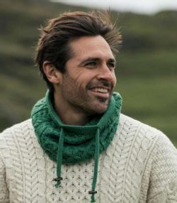ARAN Honeycomb Cable Snood